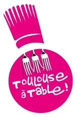 Logo Toulouse à table 2018